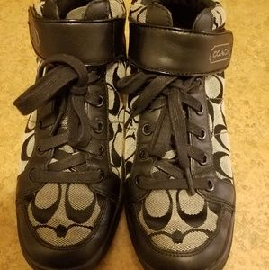 Women's Coach Hi Tops Shoes